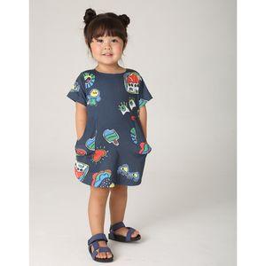 roupa-toddler-vestido-cartoon-menina-azul-escuro-green-by-missako-G6203272-770-2