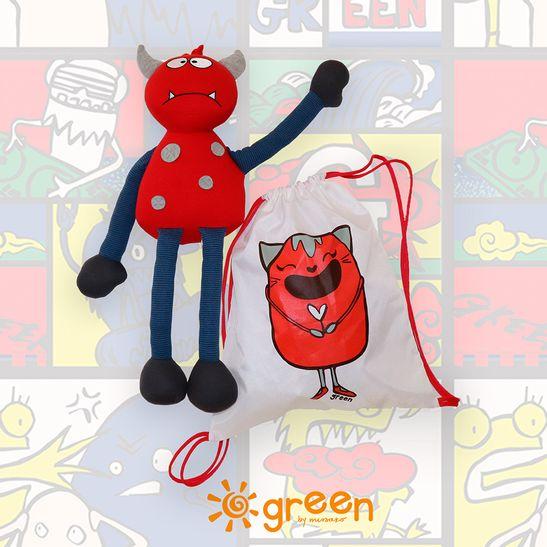 kit-dia-das-criancas-monstrinho-mochila-saco-vermelha