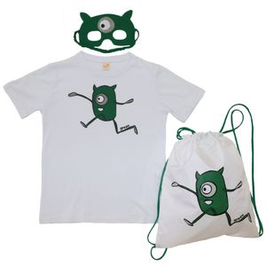 kit-camiseta-mascara-mochila-saco-dia-das-criancas-verde