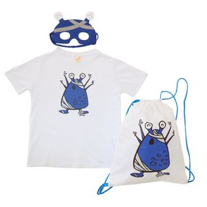 kit-camiseta-mascara-mochila-saco-dia-das-criancas-azul